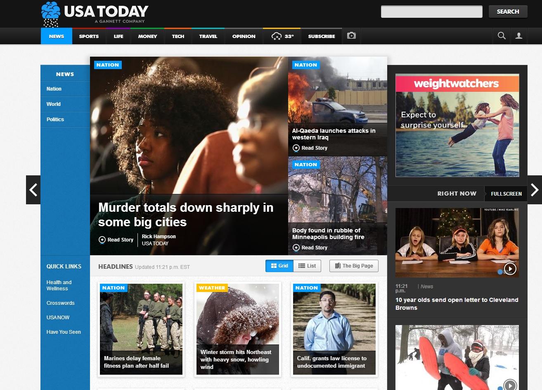 群策行銷公司_USA Today網站